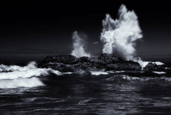 Crashing Waves Photograph - Explosion by Mike  Dawson