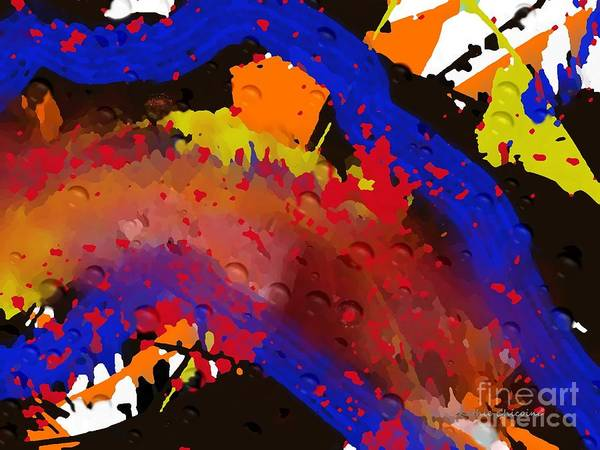 Digital Art - Explosion Of Colors by Kathie Chicoine