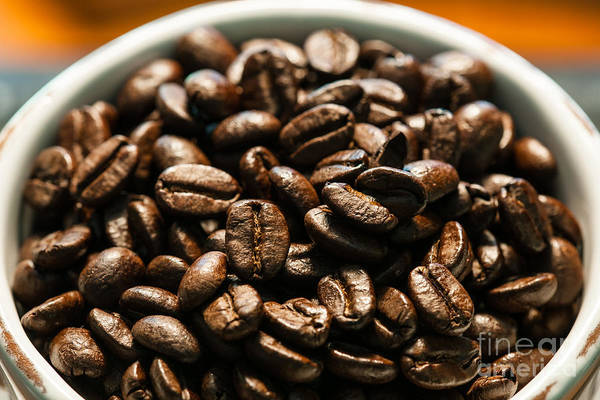 Photograph - Expresso Beans by Dale Powell