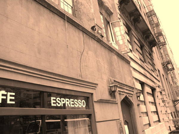 Photograph - Expresso In New York City by Cleaster Cotton
