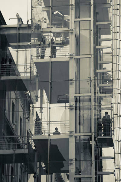 Arte Photograph - Exterior Elevators At A Museum, Museo by Panoramic Images