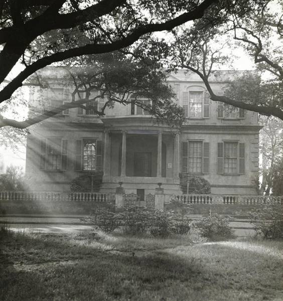 Chatham Photograph - Exterior Of Owens-thomas House by William Grigsby