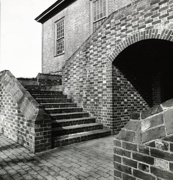 Patio Photograph - Exterior Of Stratford Hall by Ralph Bailey
