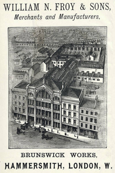 Wall Art - Drawing - Exterior Of William Nathaniel Froy by Mary Evans Picture Library