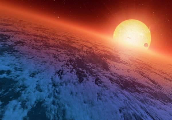 Wall Art - Photograph - Extrasolar Super-earth by Detlev Van Ravenswaay