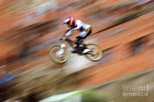 Photograph - Extreme Urban Downhill by James Brunker