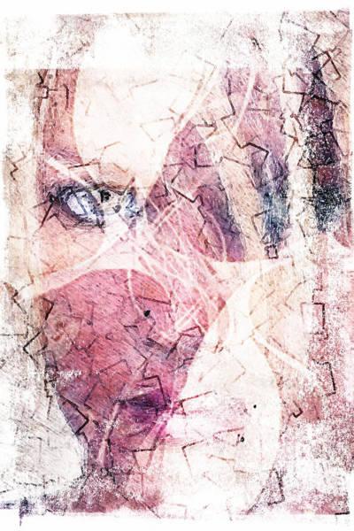 Blondie Digital Art - Eye And Lips by Andrea Barbieri