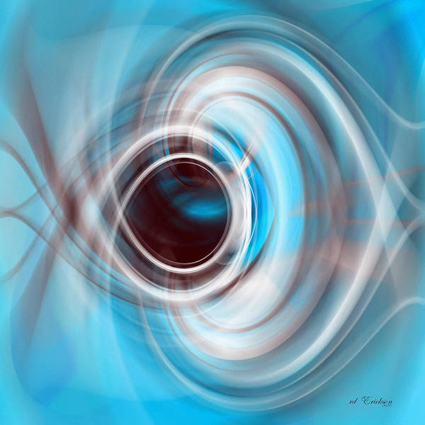 Digital Art - Eye Eye by rd Erickson