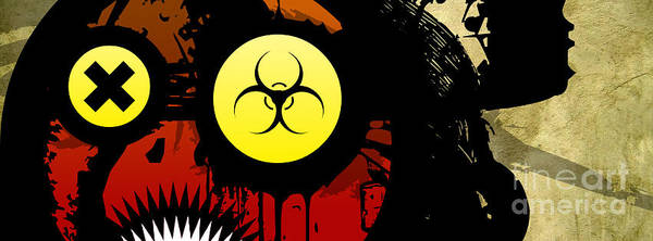 Ghoul Digital Art - Eye For The Apocalypse by Jeff Danos
