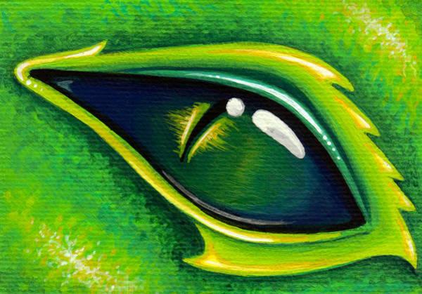 Wall Art - Painting - Eye Of Cepheus by Elaina  Wagner