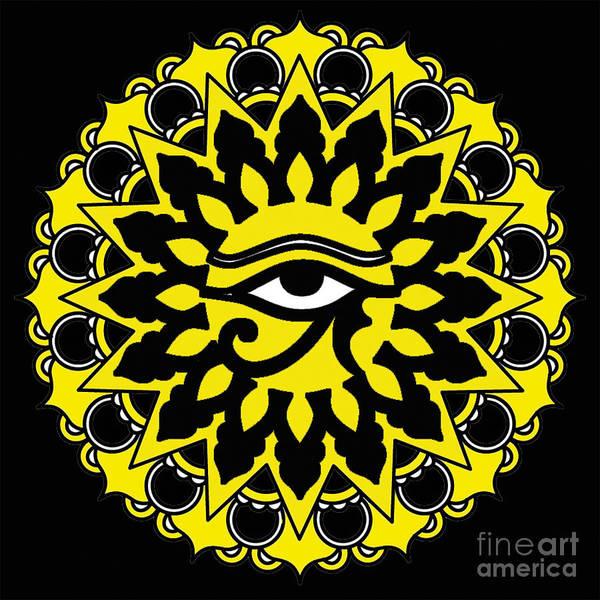 Respect Digital Art - Eye Of Rah  by Respect the Queen
