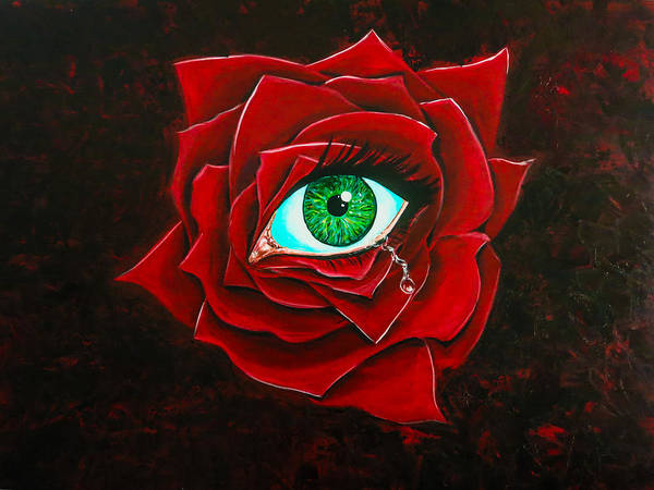 Painting - Eye Of The Beholder by Joel Tesch