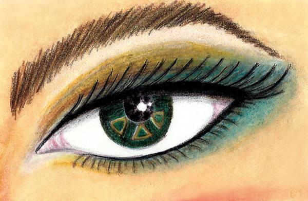 Eye Of The Beholder Series- Tri Delta Art Print