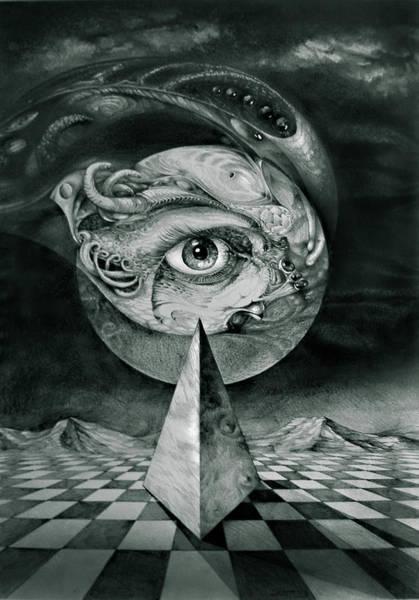 Eye Of The Dark Star Art Print