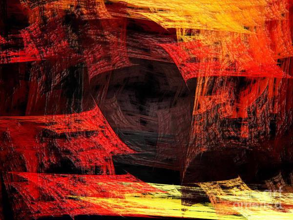 Wall Art - Digital Art - Eye Of The Storm 2 - Blown Away - Abstract - Fractal Art by Andee Design