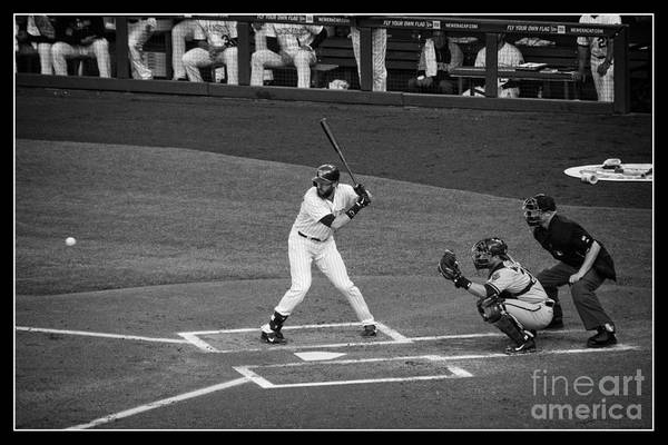 Fielder Photograph - Eye On The Ball by Bob Hislop