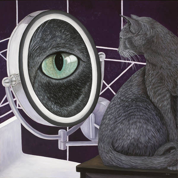 Painting - Eye See You by Karen Zuk Rosenblatt