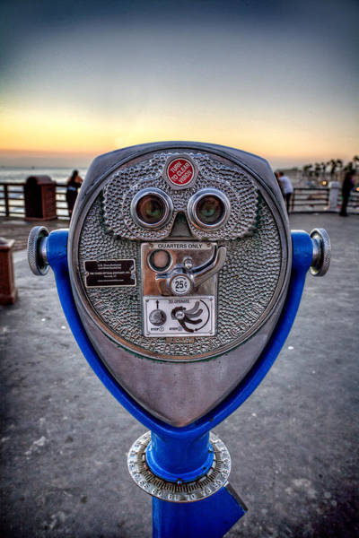 Oceanside Pier Photograph - Eye See You by Peter Tellone