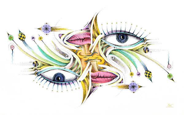 Mixed Media - Eyelegan by Sam Davis Johnson