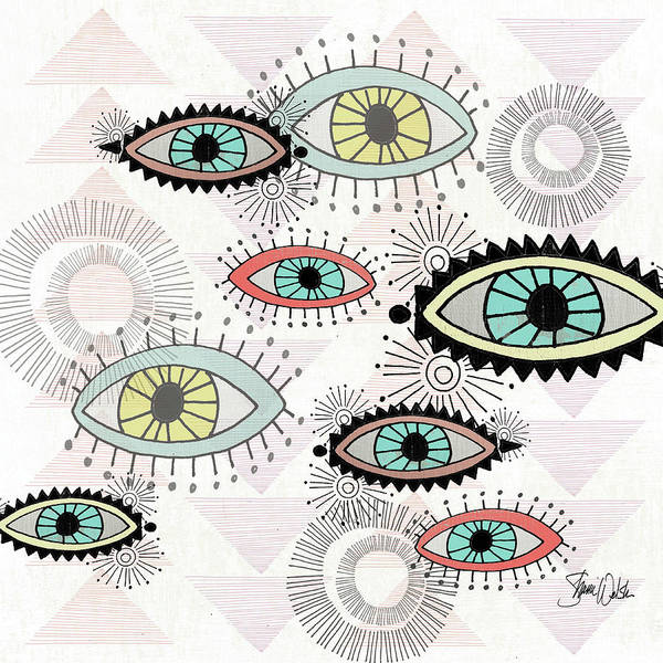 Wall Art - Painting - Eyes I by Shanni Welsh