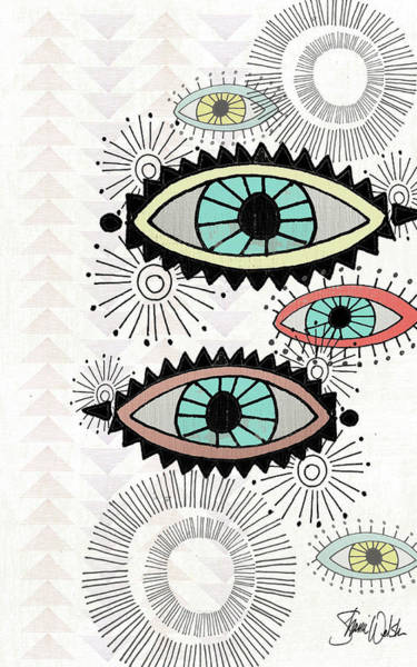 Wall Art - Painting - Eyes II by Shanni Welsh