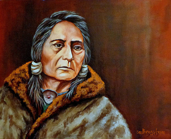 Bergstrom Painting - Eyes Of A Nation by Susan Bergstrom