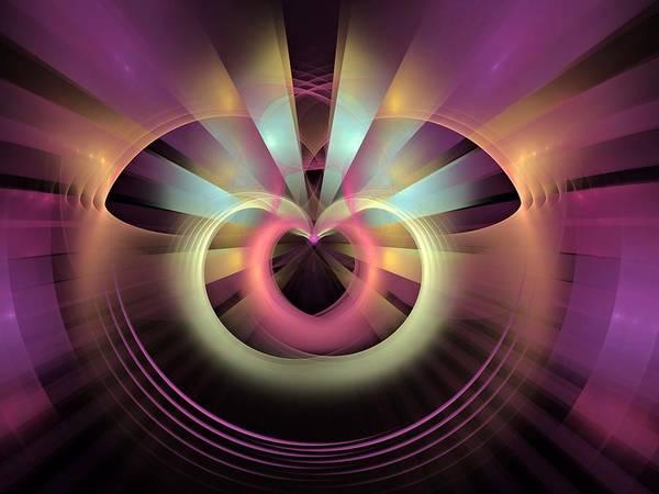 Dive Bar Digital Art - Eyes-of-the-heart-panel-centerbb by Bill Campitelle