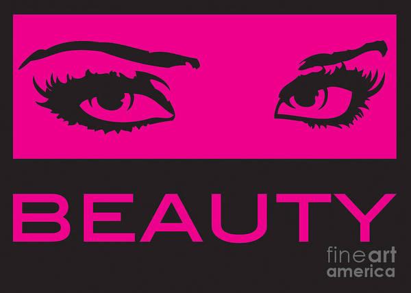 Clarity Digital Art - Eyes On Beauty by Suzi Nelson