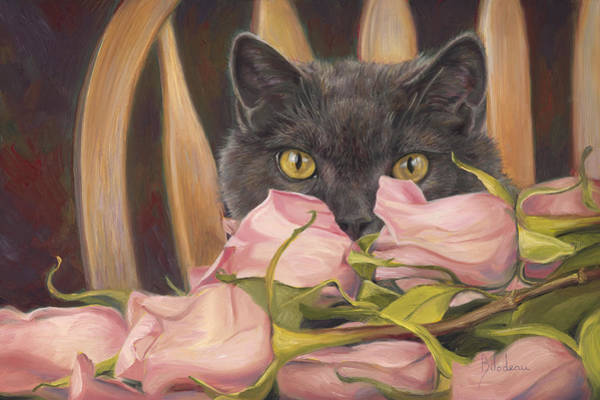 Painting - Eyes On Things by Lucie Bilodeau