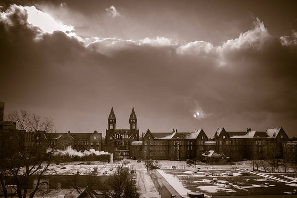 Wny Wall Art - Photograph - Eyes Over Richardson Center by Chris Bordeleau