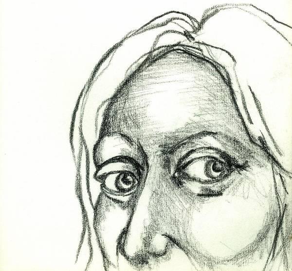 Drawing - Eyes - The Sketchbook Series by Michelle Calkins