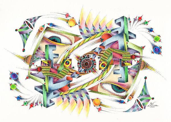 Mixed Media - Eyevis by Sam Davis Johnson