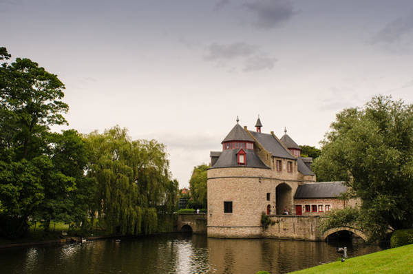 Photograph - Ezelpoort In Brugge by Paul Indigo