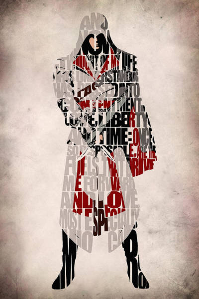 Designs Digital Art - Ezio - Assassin's Creed Brotherhood by Inspirowl Design