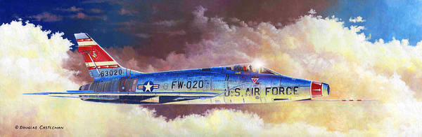 F-100d Super Sabre Art Print