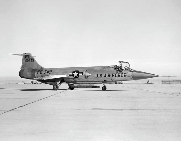 F-16 Photograph - F-104 Starfighter by Nasa