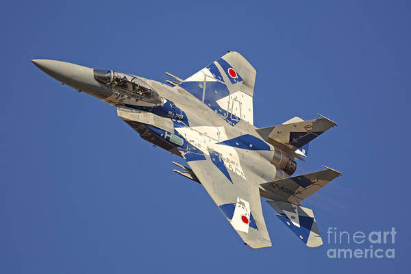 Fallon Wall Art - Photograph - F-15dj Eagle Of The Japan Air Self by Phil Wallick