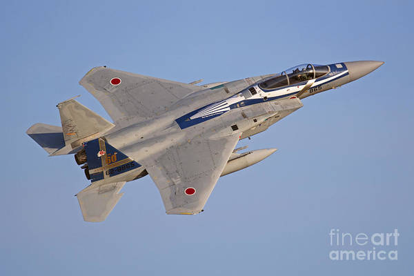 Fallon Wall Art - Photograph - F-15j Eagle Of The Japan Air by Phil Wallick