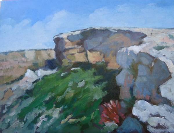 Ir Painting - F Omm Ir Rih Malta by Edward Abela