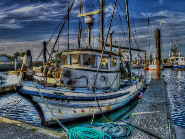Photograph - F/v Mickey by HW Kateley