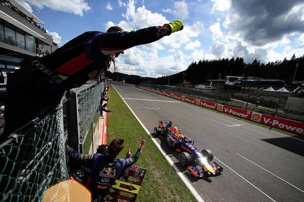 Belgium Photograph - F1 Grand Prix Of Belgium by Mark Thompson