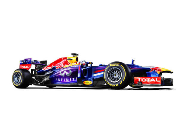 Car Poster Photograph - F1 Red Bull Rb9 by Gianfranco Weiss