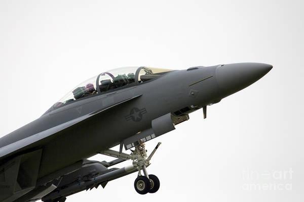 A-18 Hornet Wall Art - Photograph - F18 Super Hornet by J Biggadike