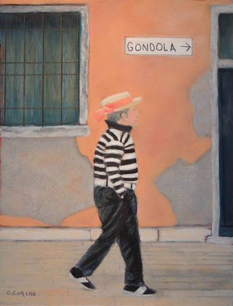 Pastel - Fabio by Carol Corliss