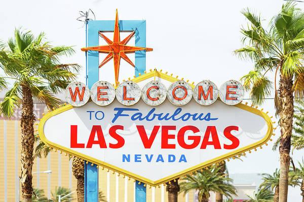 Las Vegas Photograph - Fabulous Las Vegas Sign, Nevada, Usa by Chris Hepburn
