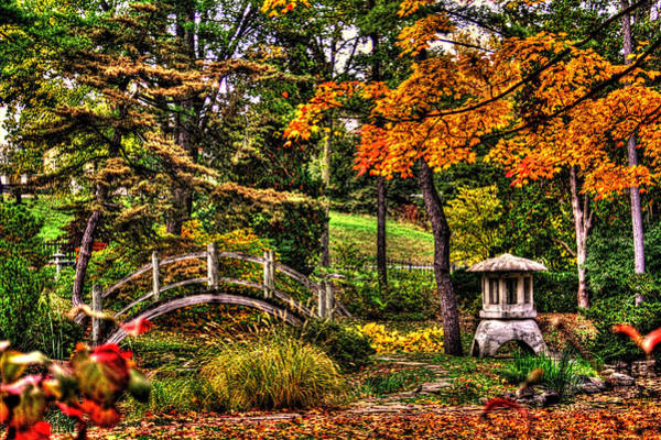 Fabyan Japanese Gardens I Art Print