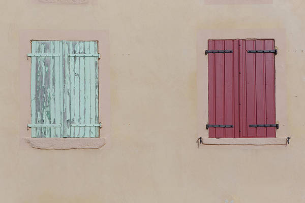Photograph - Facade And Closed Windows by Picavet
