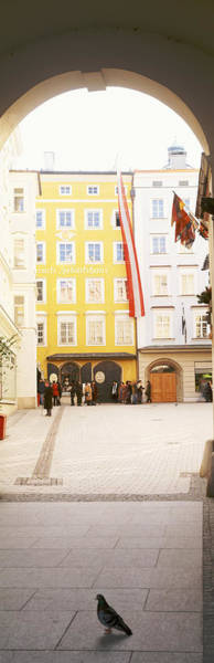 Mozart Photograph - Facade Of A Building, Birthplace Of by Panoramic Images