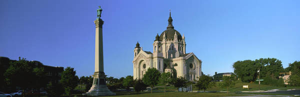 Wall Art - Photograph - Facade Of A Cathedral, St. Paul by Panoramic Images