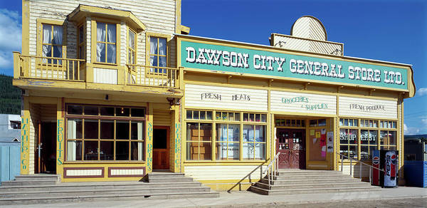 Yukon Territory Photograph - Facade Of A General Store, Dawson by Panoramic Images